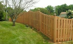 Wooden Fencing UAE from SKC INTERIORS