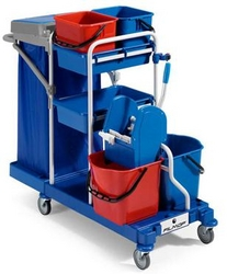 Janitorial Trolley/Cart from TRENT INTERNATIONAL LLC