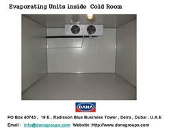 Cold room Manufacturers in UAE .QATAR/AFRICA/MALI from DANA GROUP UAE-OMAN-SAUDI