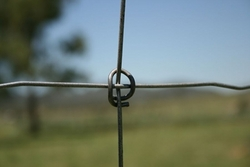 RING LOCK FENCE SYSTEM--ANIMAL FENCING