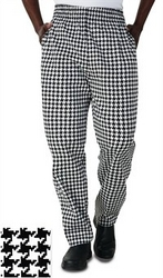 CHEF PANT SUPPLIERS IN UAE from LCT UNIFORMS LLC