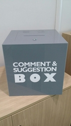 CUSTOMIZE SUGGESTION BOXES