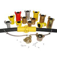 Blasting hose couplings from POWERBLAST LLC