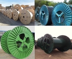 Cable Drum Wheels Steel and wooden Cable Drum Wheel from SB GROUP FZE LLC