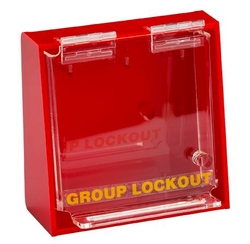 BRADY Acrylic Wall Lock Box - Small from SIS TECH GENERAL TRADING LLC