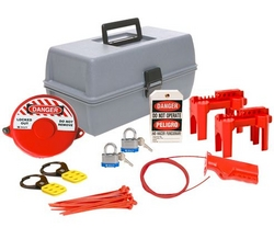 BRADY Valve Lockout Kit from SIS TECH GENERAL TRADING LLC