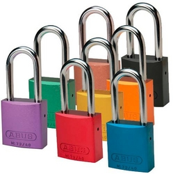 BRADY Alike Aluminum Shackle Locks from SIS TECH GENERAL TRADING LLC