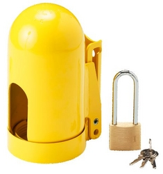 BRADY Snap Cap™ Gas Cylinder Lockout from SIS TECH GENERAL TRADING LLC