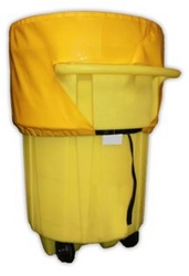 Poly-Top For 95 Gallon Wheeled Overpacks from SIS TECH GENERAL TRADING LLC