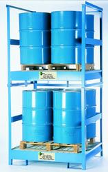 4 Drum Steel Stacker from SIS TECH GENERAL TRADING LLC