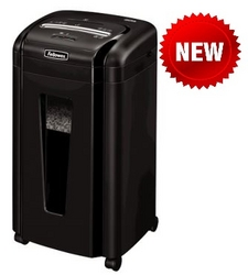 Fellowes Powershred MS-460Ms Cross Cut Shredder from SIS TECH GENERAL TRADING LLC