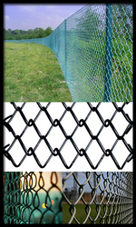 Chain Link Fencing  from HEBEI YINGKAIMO METAL NET FZCO