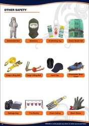 SAFETY BALACLAVA GARBAGE BAG SHOE COVER 042222641