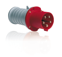ABB PLUG 63 A, IP44 SPLASHPROOF SUPPLIER IN UAE from AL TOWAR OASIS TRADING