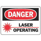ACCUFORM SIGNS Danger Radiation Sign in uae from WORLD WIDE DISTRIBUTION FZE