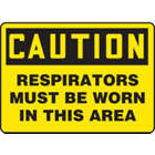 ACCUFORM SIGNS Respirators Must Be Worn In This Ar from EXCEL TRADERS