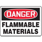 ACCUFORM SIGNS Flammable Materials Sign in uae from WORLD WIDE DISTRIBUTION FZE