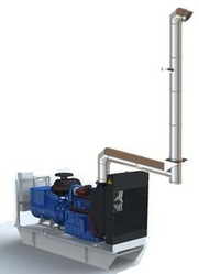 GENERATOR EXHAUST STAINLESS STEEL SYSTEM from JEREMIAS