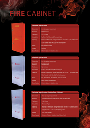 FIRE CABINETS from  MAF  FIRE  SAFETY  &  SECURITY  L.L.C
