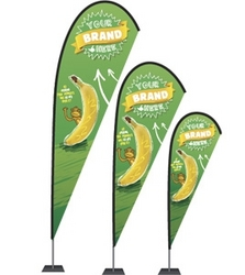 Fabric Banner and Textile Flags Printing