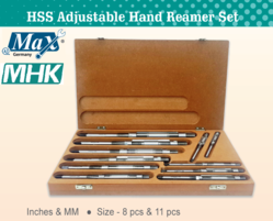 HSS Adjustable Hand Reamer Set from M H K HARDWARE TRADING LLC