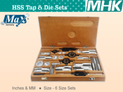 HSS Tap & Die Set from M H K HARDWARE TRADING LLC