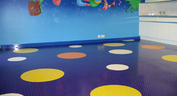 Rubber floor in dubai from JAWABCO LLC