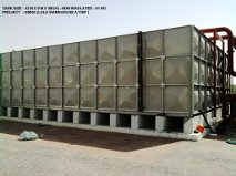 GRP Panel Tank Supplier in UAE from STEADFAST GLOBAL INDUSTRIAL SUPPLIES FZE