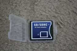 SDHC / SD to Compact Flash CF Type II Card Adapter from FINECO GENERAL TRADING LLC UAE
