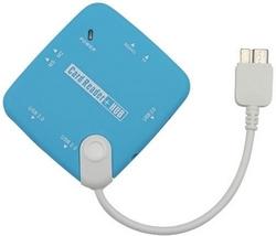 Micro USB 3.0 Card Reader OTG USB HUB for Samsung  from FINECO GENERAL TRADING LLC UAE
