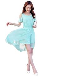 Short Sleeves Off Shoulder High-Low Hem  from FINECO GENERAL TRADING LLC UAE