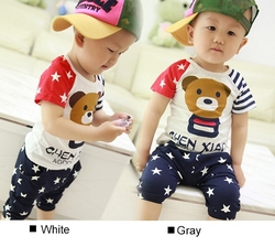Short Sleeve Panda Print T-shirt And Print Shorts from FINECO GENERAL TRADING LLC UAE