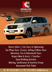 Evening Desert Safari in Abu Dhabi from EMIRATES TOURS & SAFARI LLC
