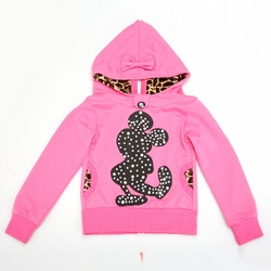 Hooded Print Back Zipper Casual from FINECO GENERAL TRADING LLC UAE