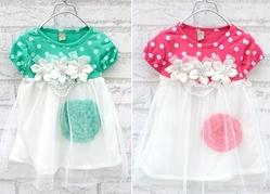 Princess Flower Net Yarn Bubble Dress from FINECO GENERAL TRADING LLC UAE
