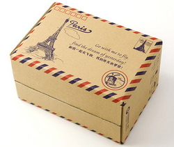 Corrugated board packaging box, mail box from FINECO GENERAL TRADING LLC UAE