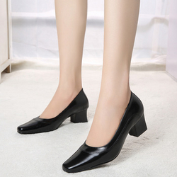 Women's pumps genuine leather shoes from FINECO GENERAL TRADING LLC UAE