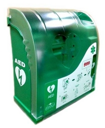 AED Cabinet from ARASCA MEDICAL EQUIPMENT TRADING LLC