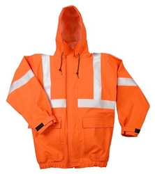 Fire Rated Waist Length Rain Jacket from FINECO GENERAL TRADING LLC UAE