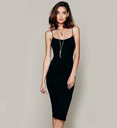 Strap Stretch Bodycon Party Club Slim Dress from FINECO GENERAL TRADING LLC UAE
