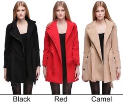 Winter Noble Long Trench Outwear Coat With Belt from FINECO GENERAL TRADING LLC UAE