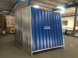 Corrugated Steel Fence Hoarding Panels Supplier  from DANA GROUP UAE-OMAN-SAUDI