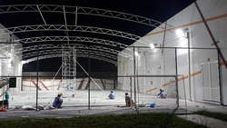 Steel Structure for Sunshades (Basket Ball Court) from ABDUL JABBAR GENERAL CONTRACTING LLC