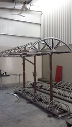 Bicycle Stand & Sunshade Structure from ABDUL JABBAR GENERAL CONTRACTING LLC