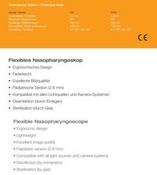 FLEXIBLE NASOPHARYNGOLARYNGOSCOPE
