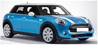 MINI COOPER FOR RENT IN UAE from DOLLAR RENT A CAR