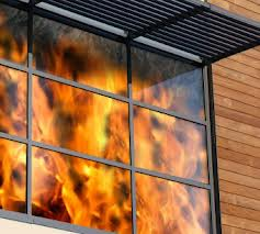 Fire rated glass from COLOURS ALUMINIUM & GLASS LLC