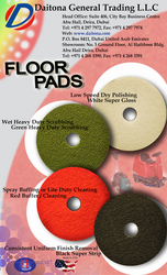 3M Floor Pads - Buffing and Cleaning