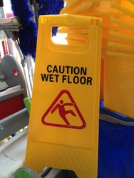 Wet Floor Sign Broad