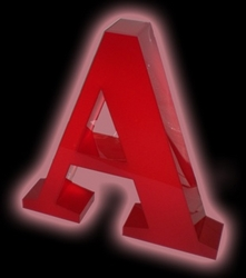Acrylic 3D letter from ADEX INTERNATIONAL
